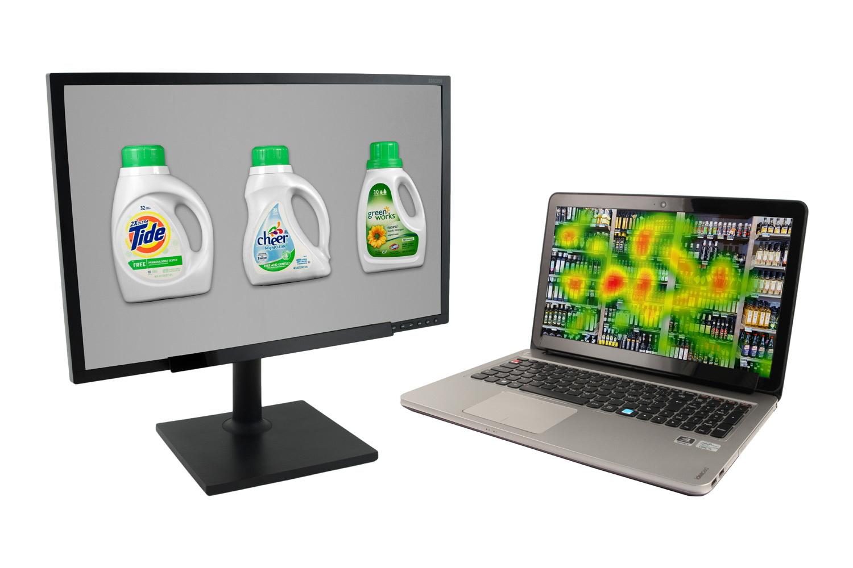 Eye tracking of packaging design